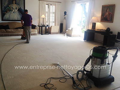 Yacht carpet cleaning french riviera